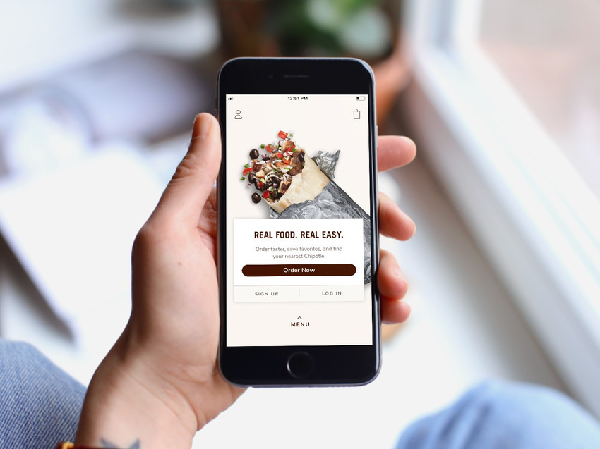 Chipotle Rewards được sử dụng thông qua ứng dụng trực tuyến - tin tức R&D