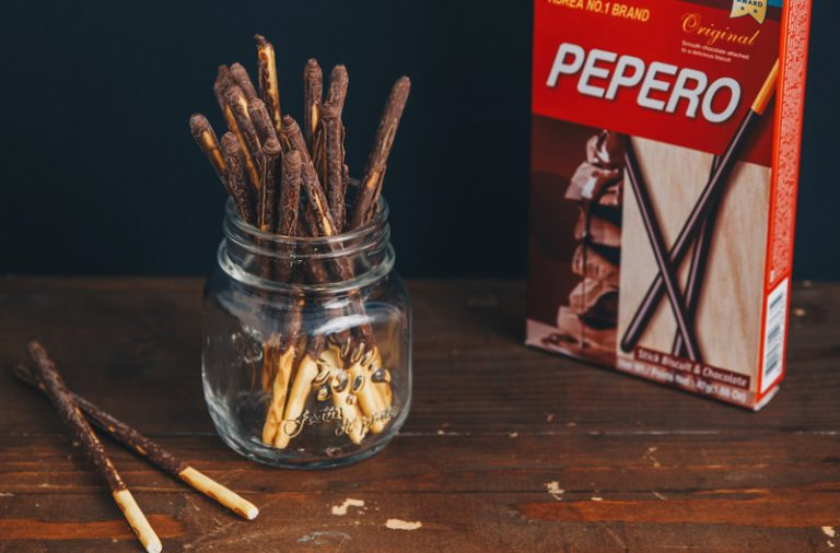 Pepero là một trong những sản phẩm bán chạy nhất của LOTTE