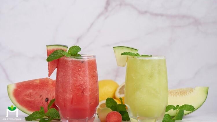 Bên cạnh sữa trái cây, nước ép và sinh tố là những lựa chọn tốt cho sức khỏe được khách hàng ưa chuộng